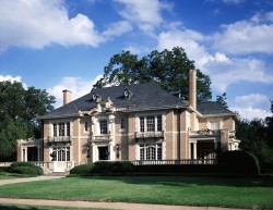 French Eclectic Style Architecture