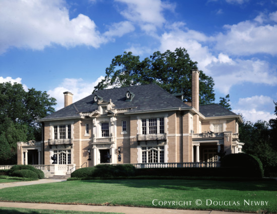 Significant French Eclectic Estate Home Designed by Architect Henry B. Thomson - 5500 Swiss Avenue