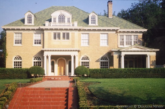 Residence Designed by Architect Bertram C. Hill - 5907 Swiss Avenue