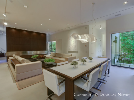Modern Home Designed by Architect Lionel Morrison - 4331 Travis Street