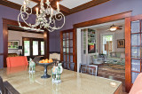 Wide Passageways Show Modernity in Historic Home