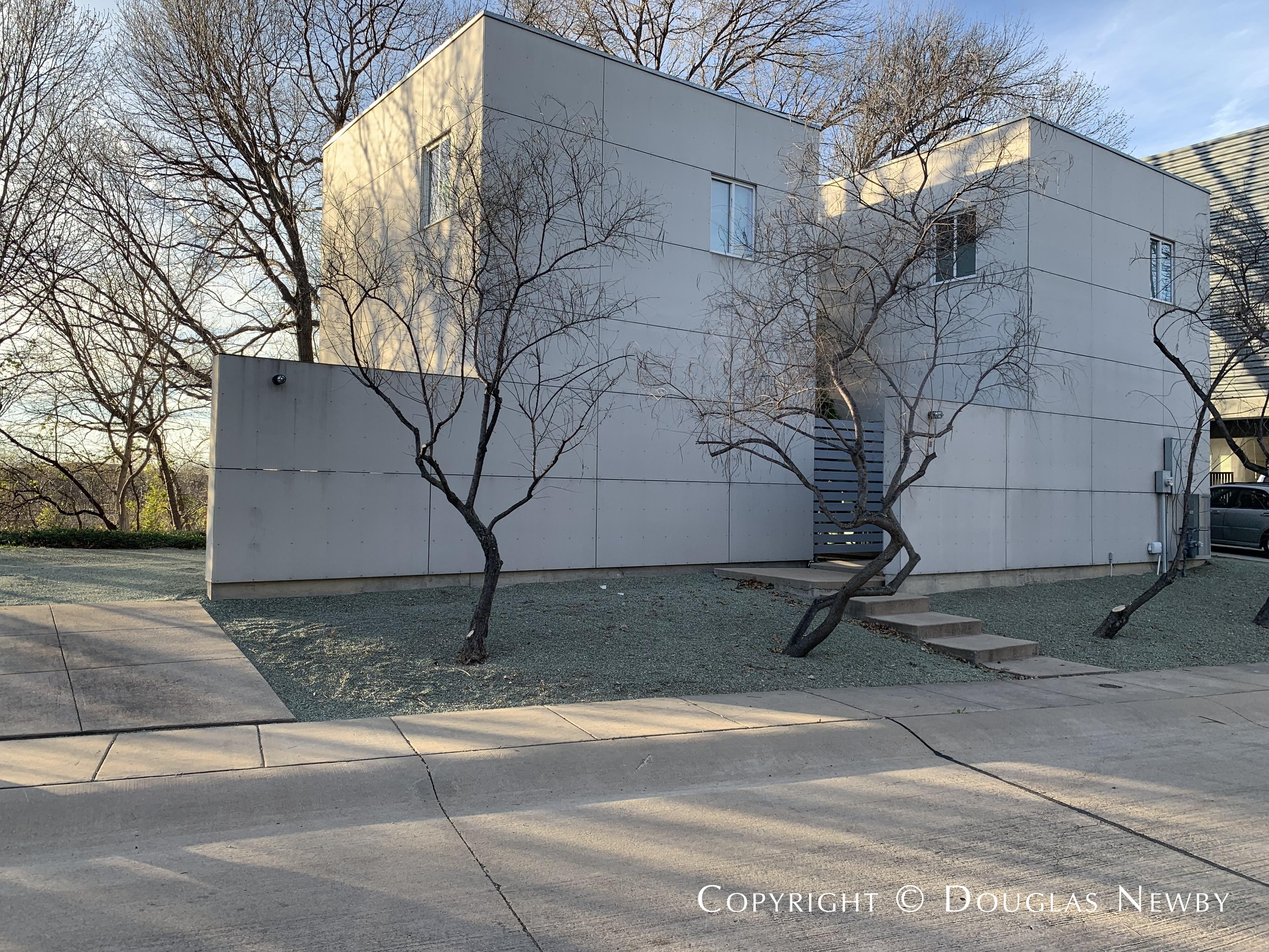 Modern Residence in Urban Reserve Neighborhood of East Dallas 11 Vanguard Way Designed by Architect Robert Meckfessel of DSGN