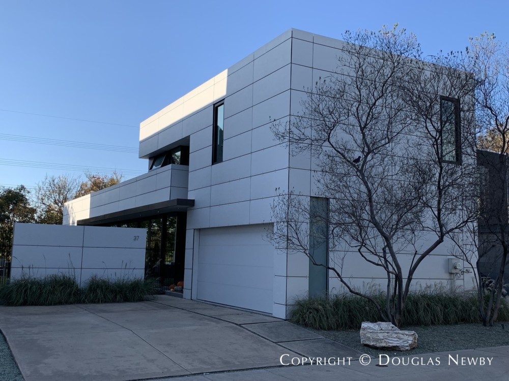 Architect Ross Conway Gensler Dallas Designed Contemporary Home