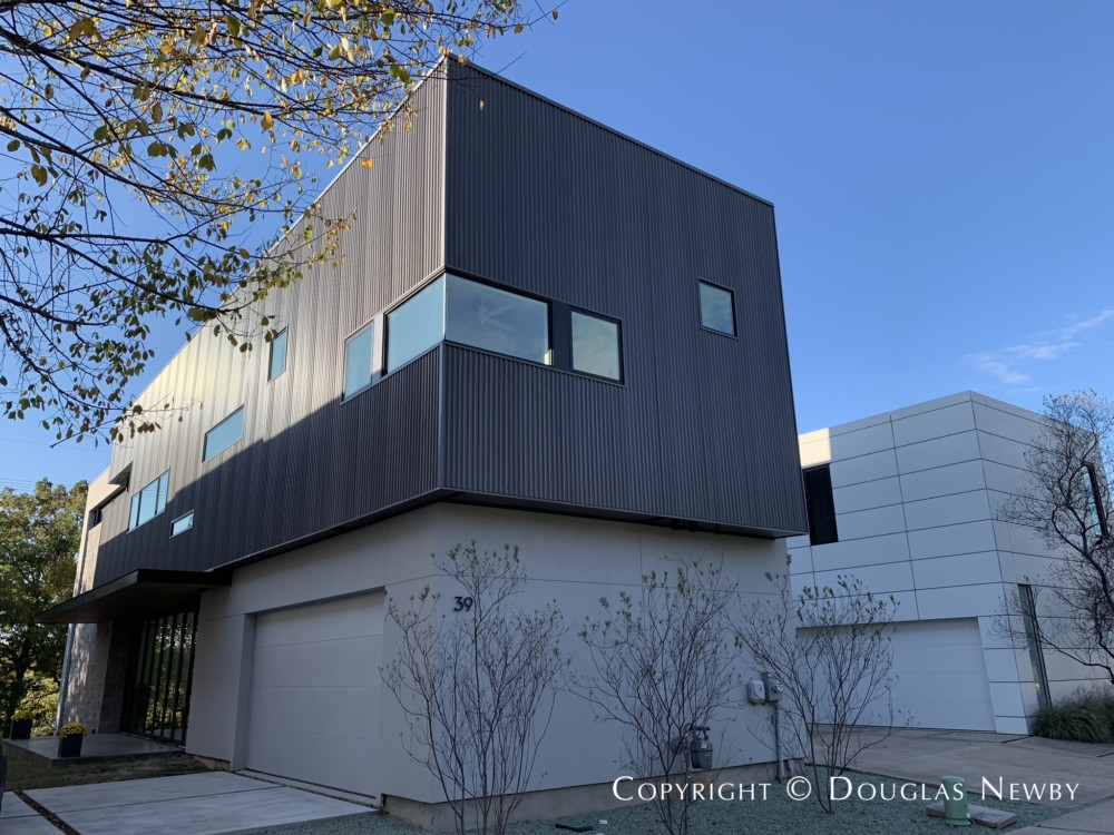 Architect-Designed Ross Conway/Gensler Dallas Contemporary Home