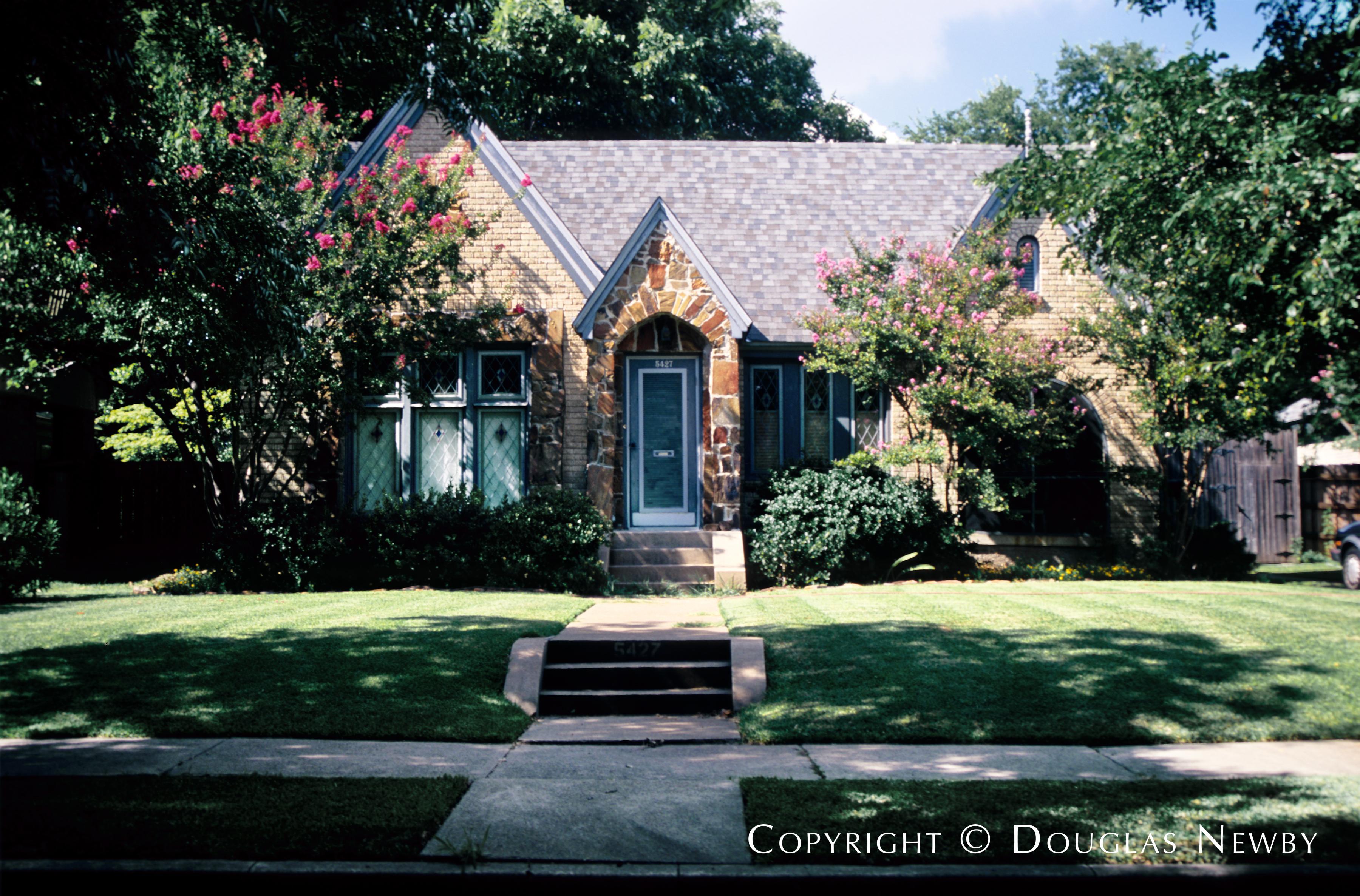 Tudor Cottage Home in East Dallas