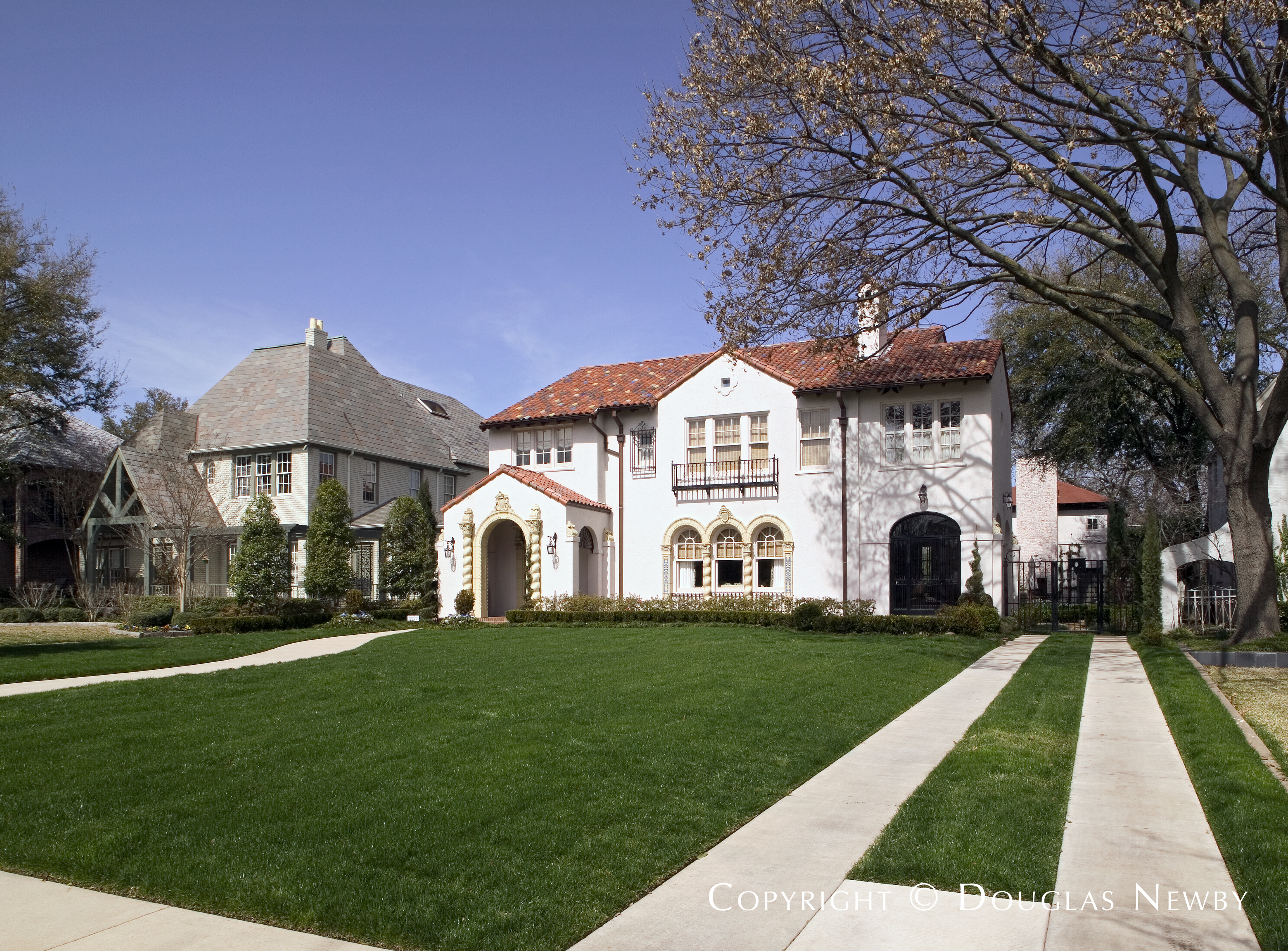 C.D. Hill Designed Home in Fourth Section of Old Highland Park