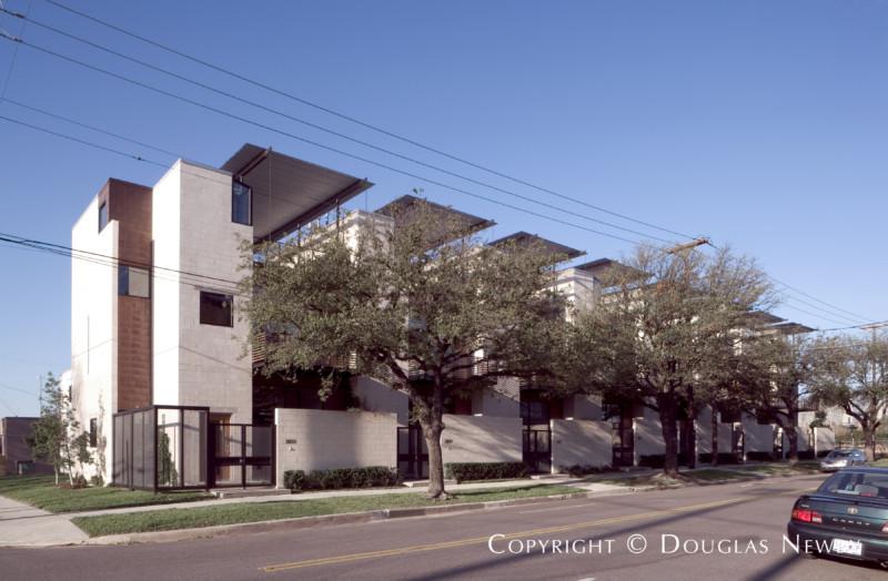Modern Architecture Dallas architect ron wommack designed dallas modern homes including
