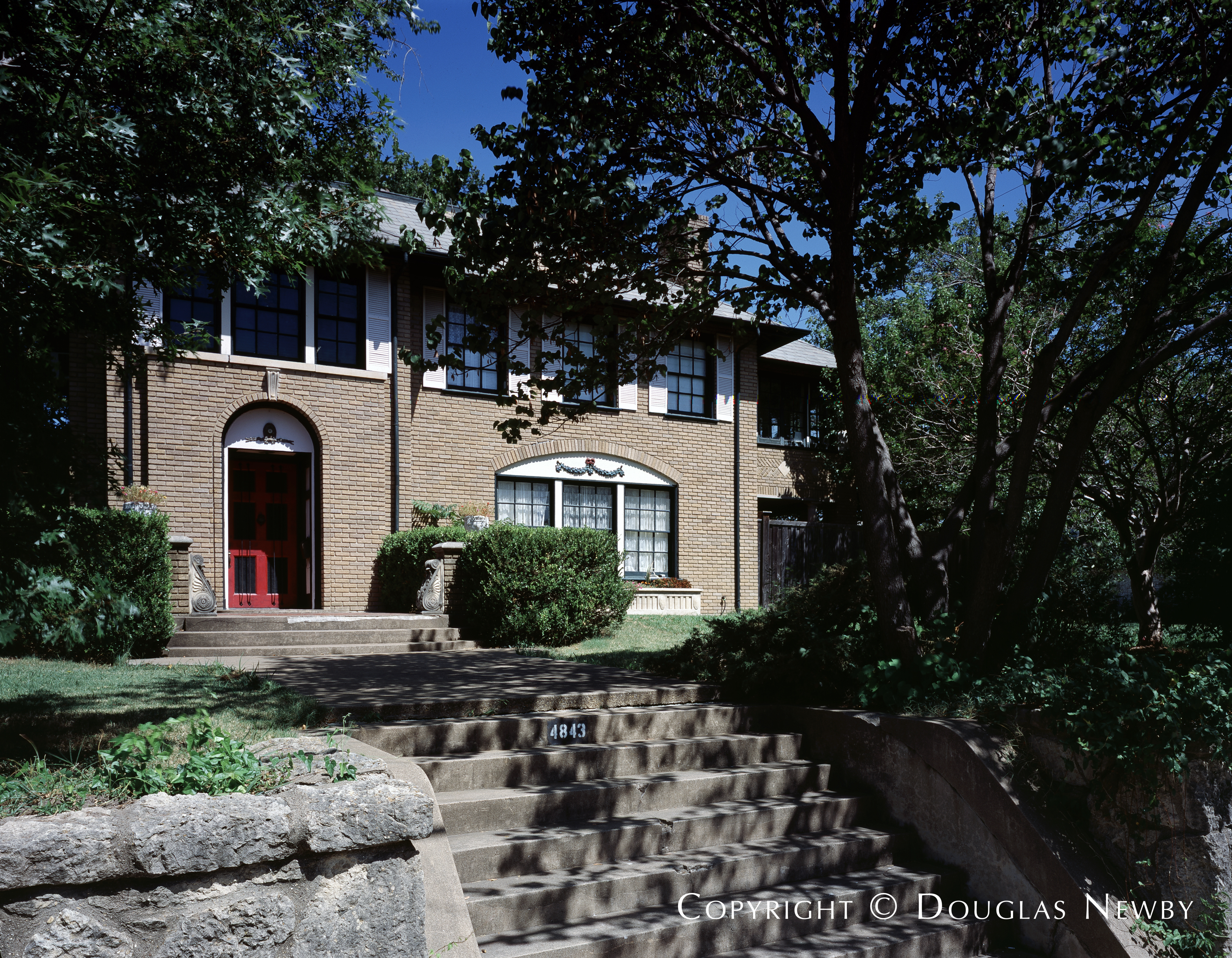East Dallas Greek Revival Home