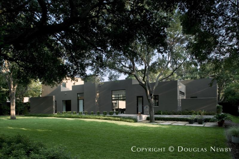 Architect Lionel Morrison Designed Home in Bluffview Area