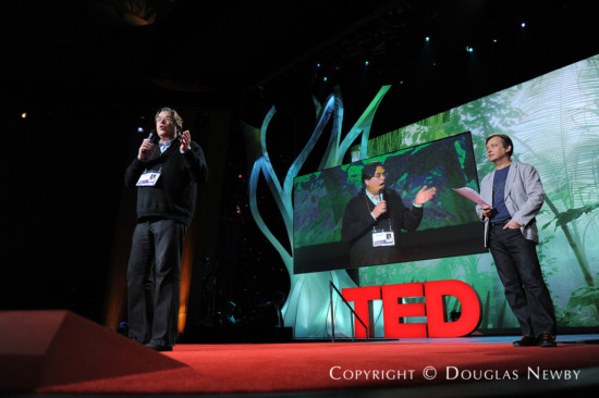 Douglas Newby takes TED Stage