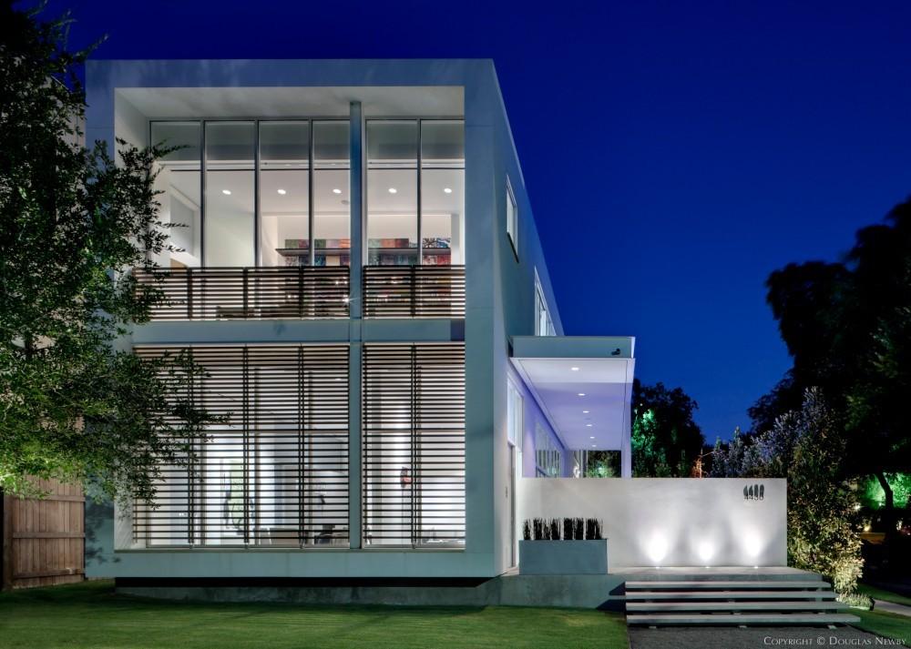 architect lionel morrison designed home in turtle creek corr