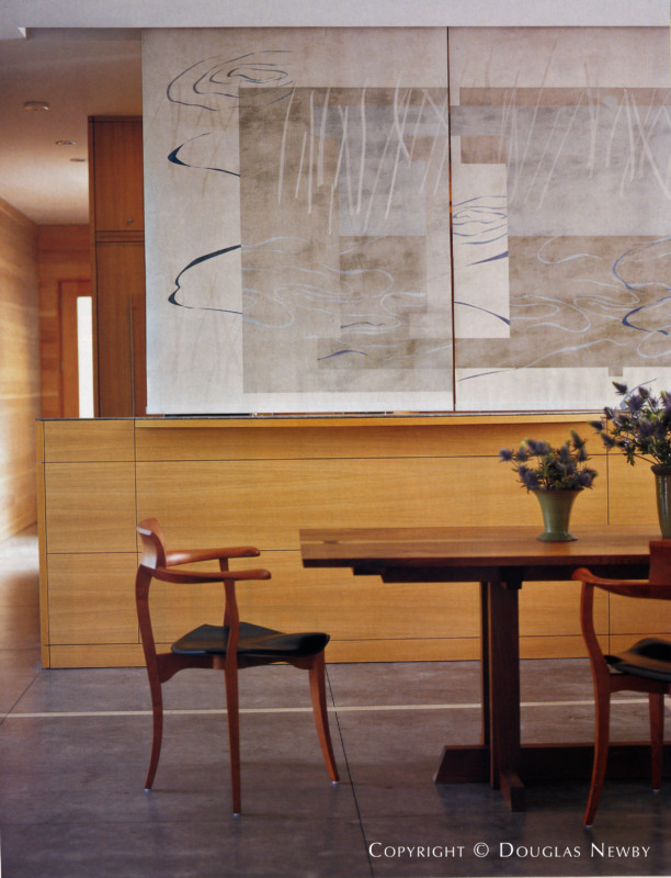 Dining Room Designed by Interior Designer Paul Draper
